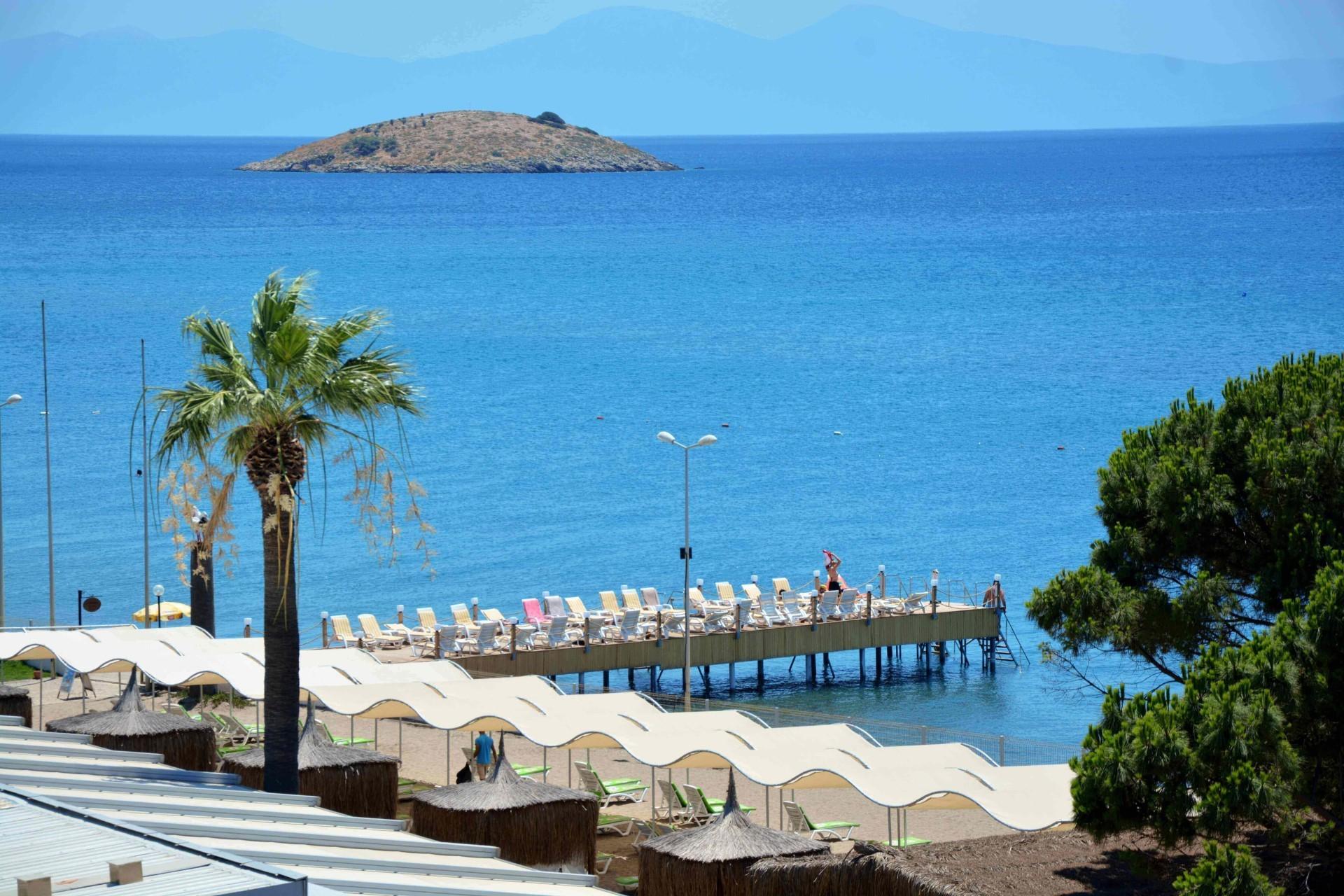 Gumuldur Resort Hotel - плаж