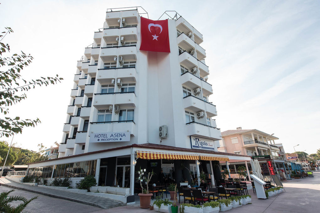 Asena Hotel - фасада