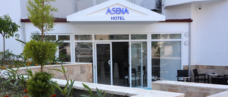 Asena Hotel - вход