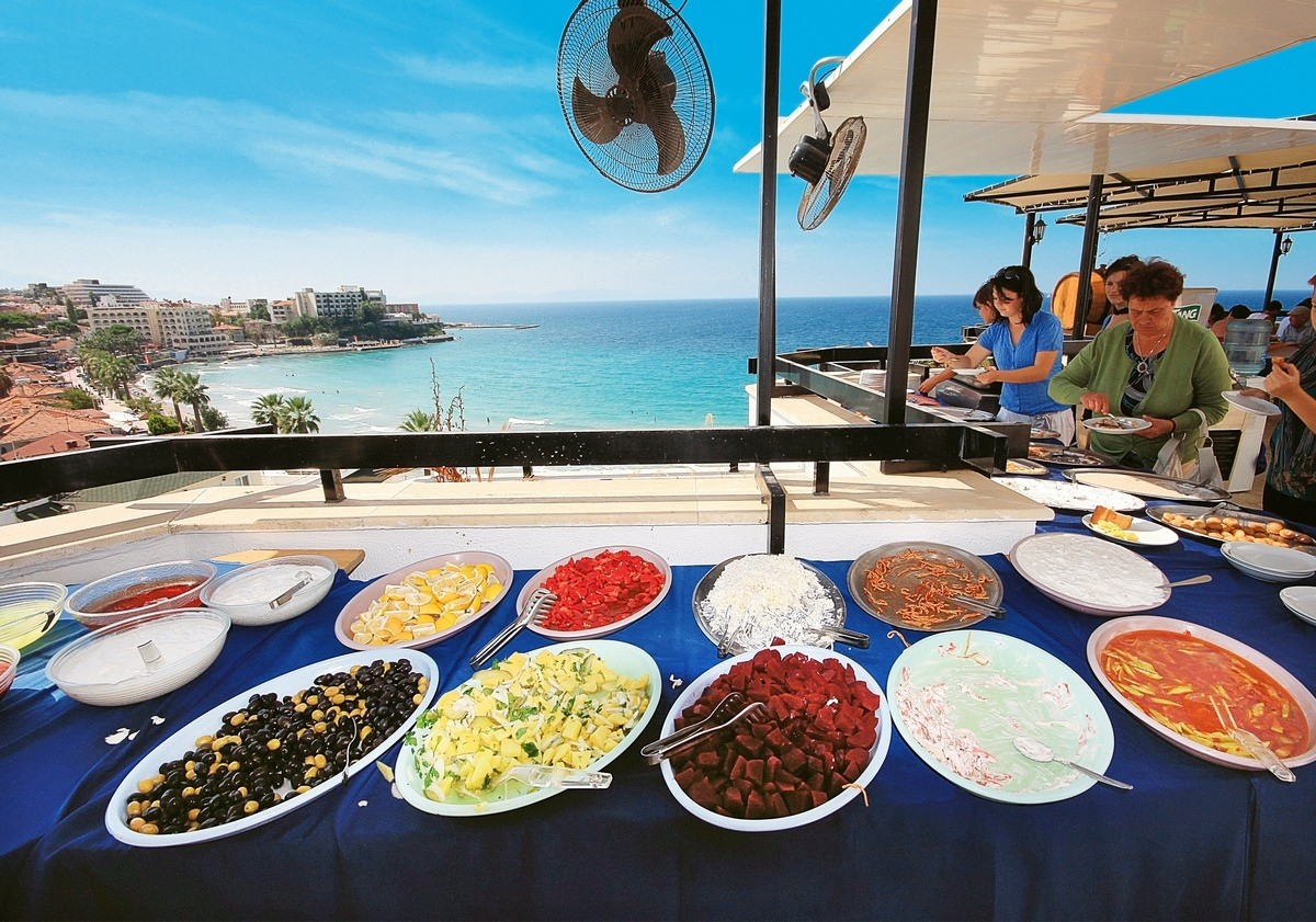 Asena Hotel - храна