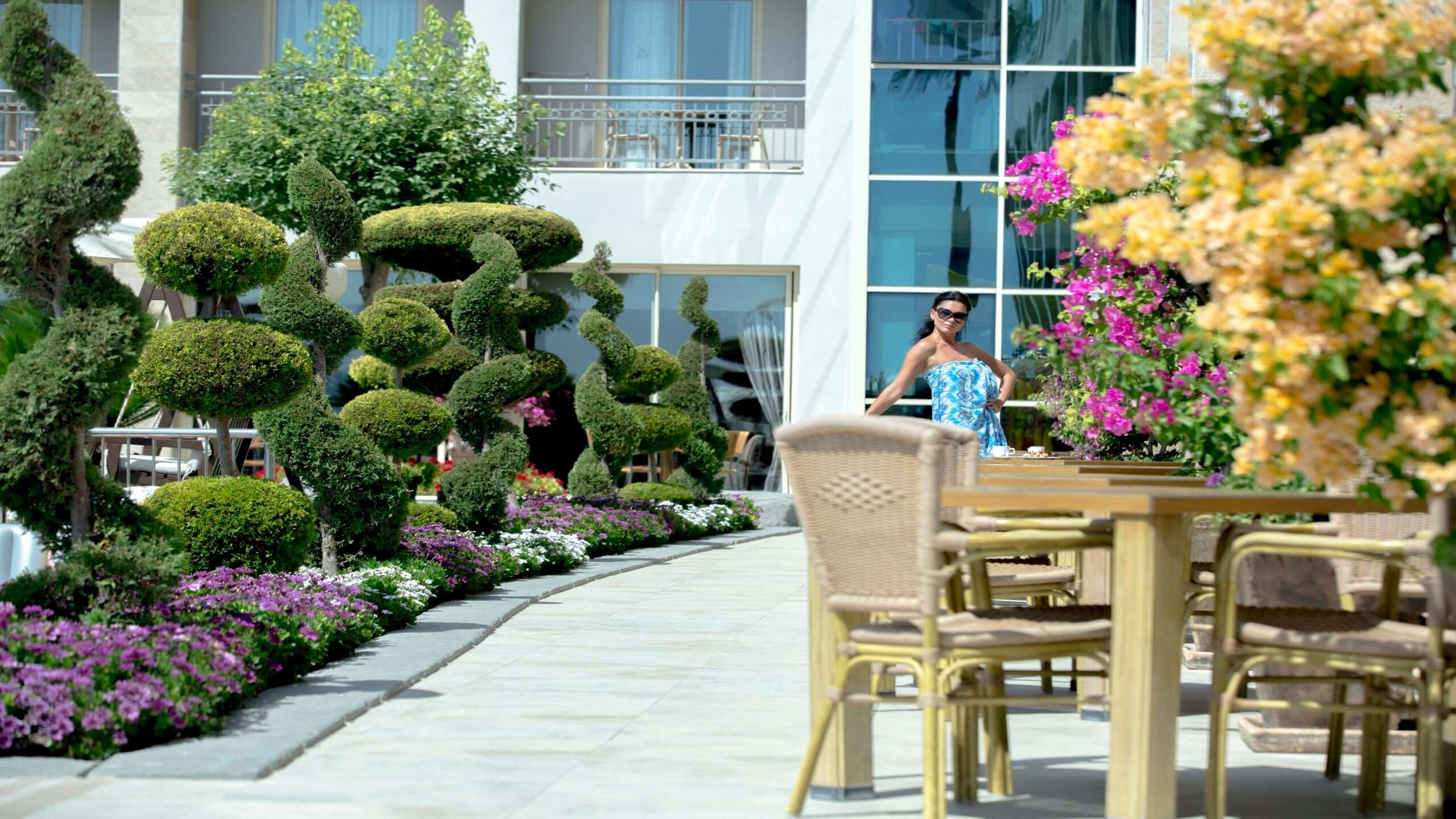 Fame Residence Kemer - градина