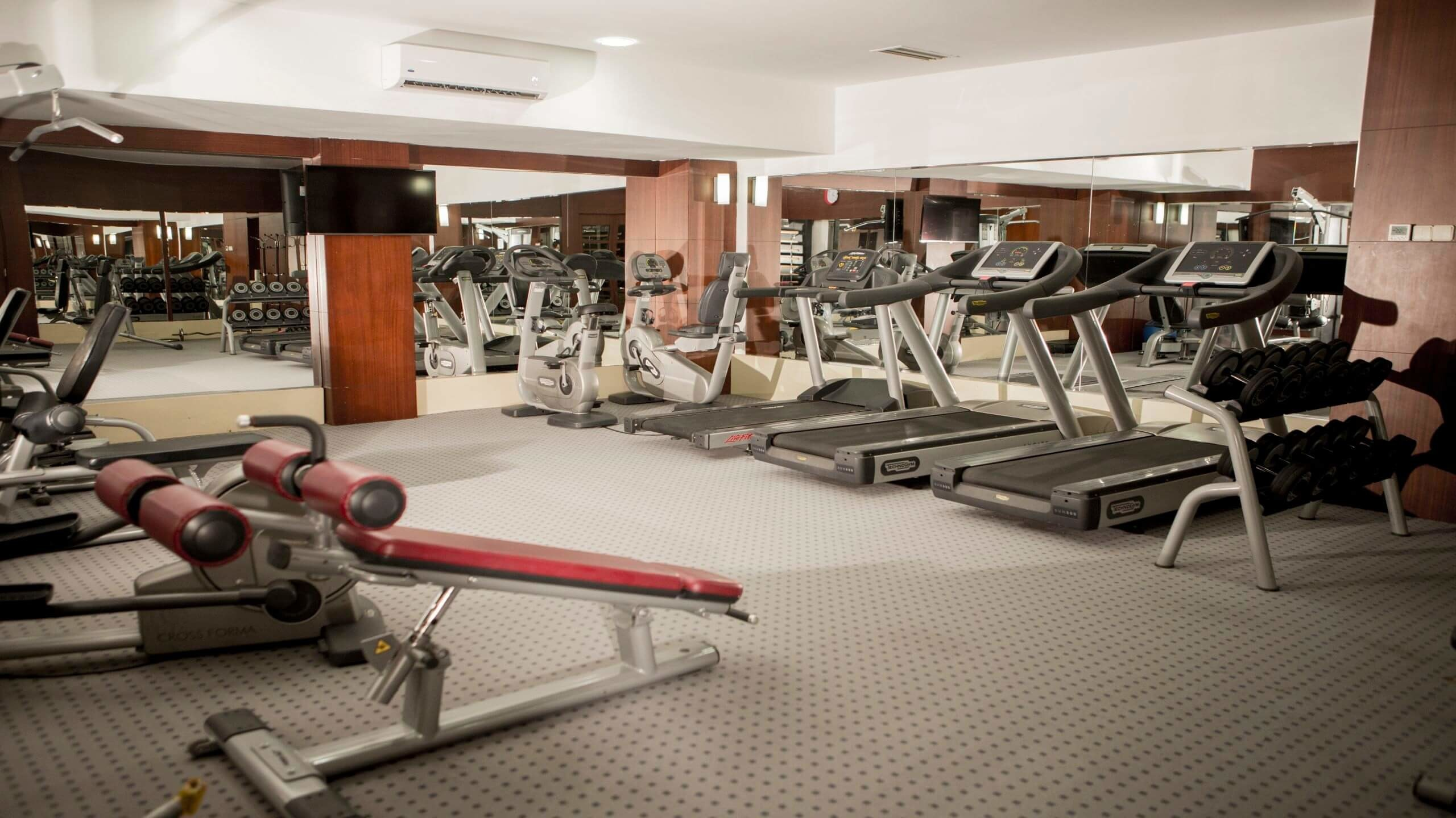 Fame Residence Kemer - фитнес