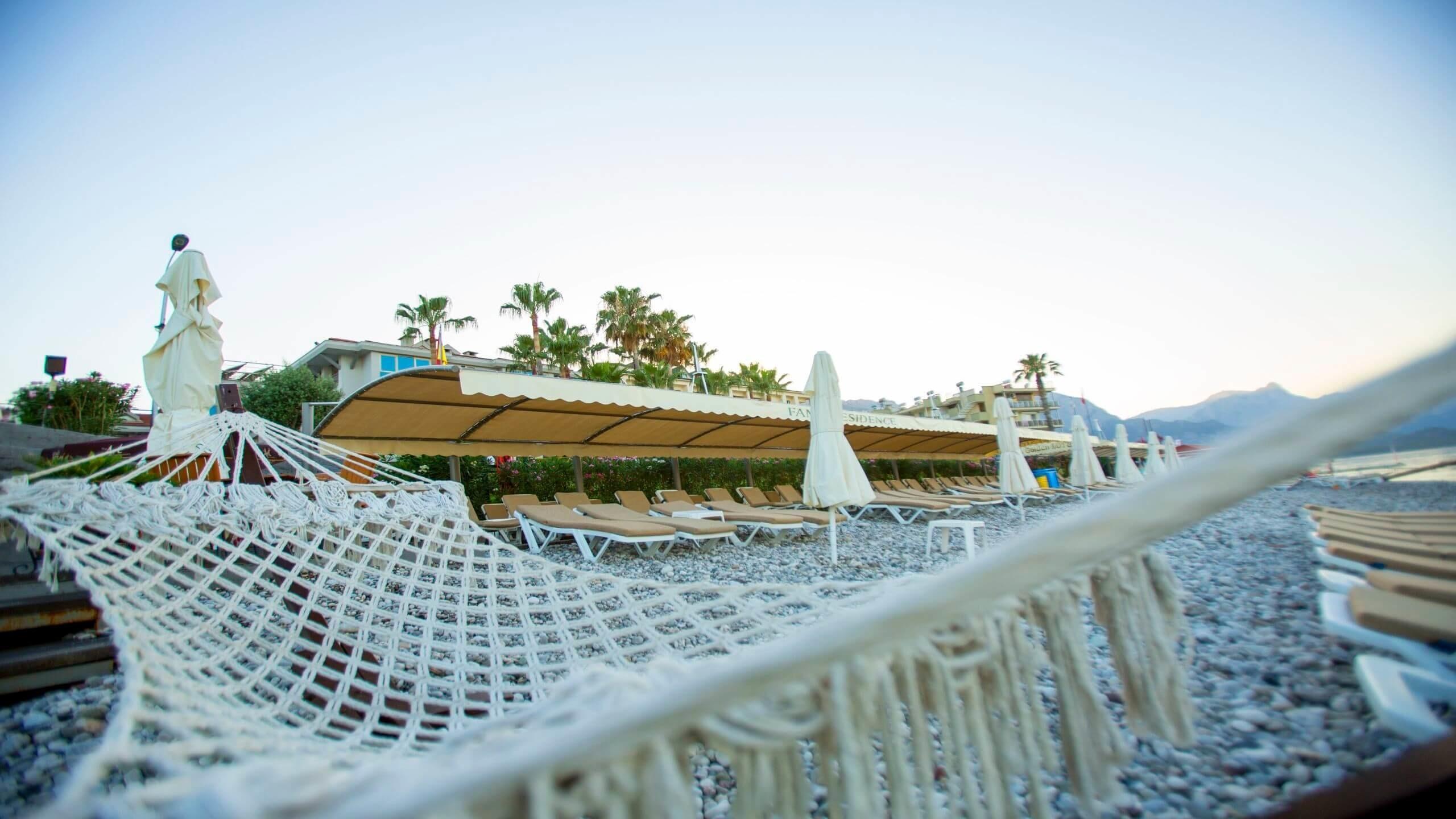 Fame Residence Kemer - плаж