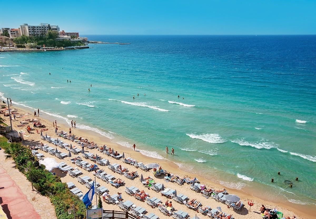 Asena Hotel - плаж