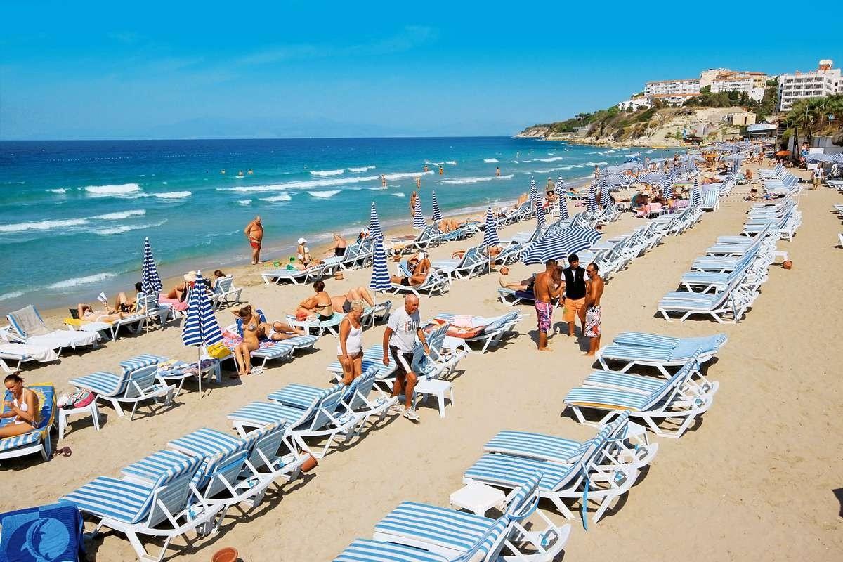 Asena Hotel - плажна ивица