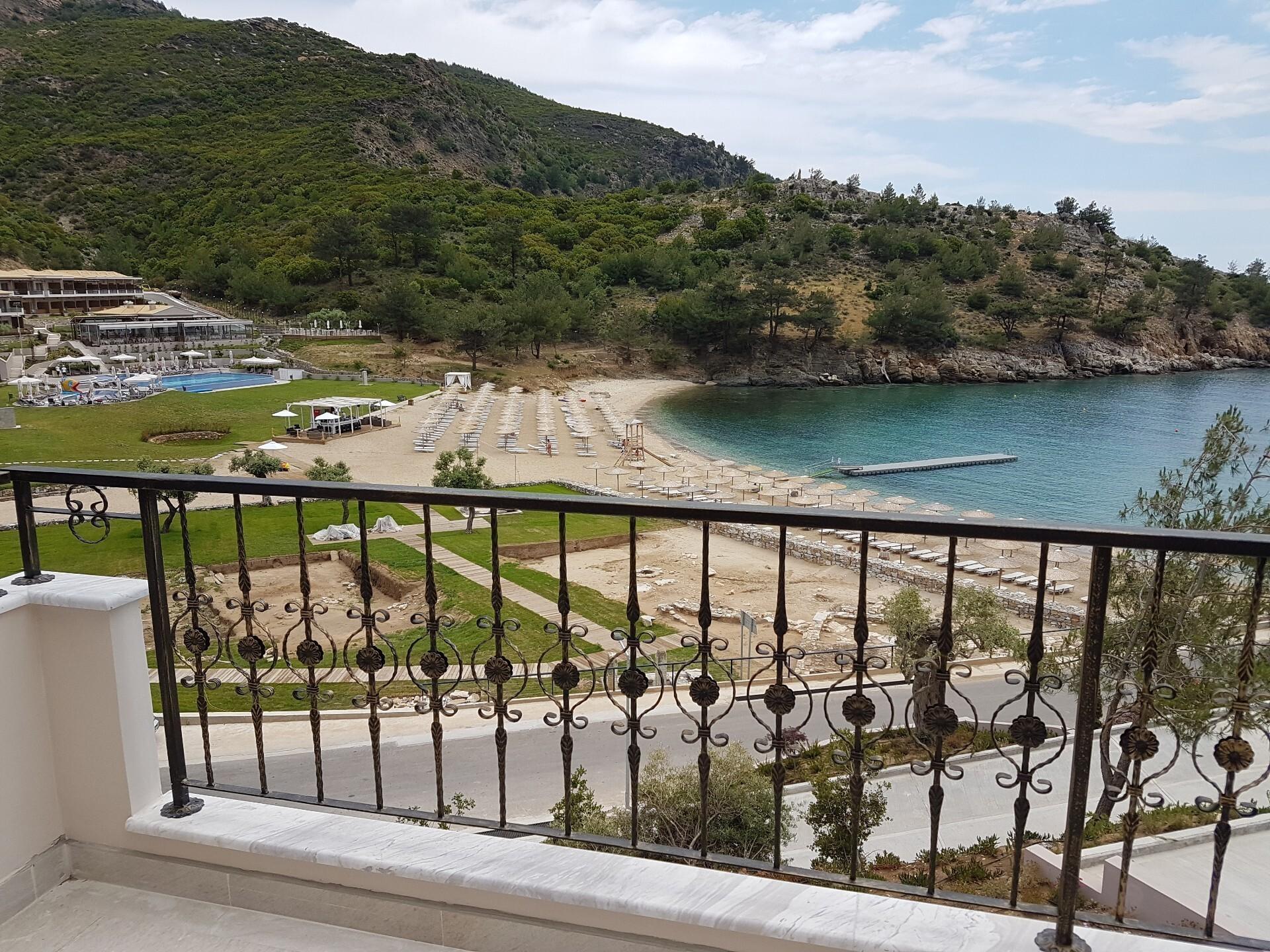 Thassos Grand Resort - тераса