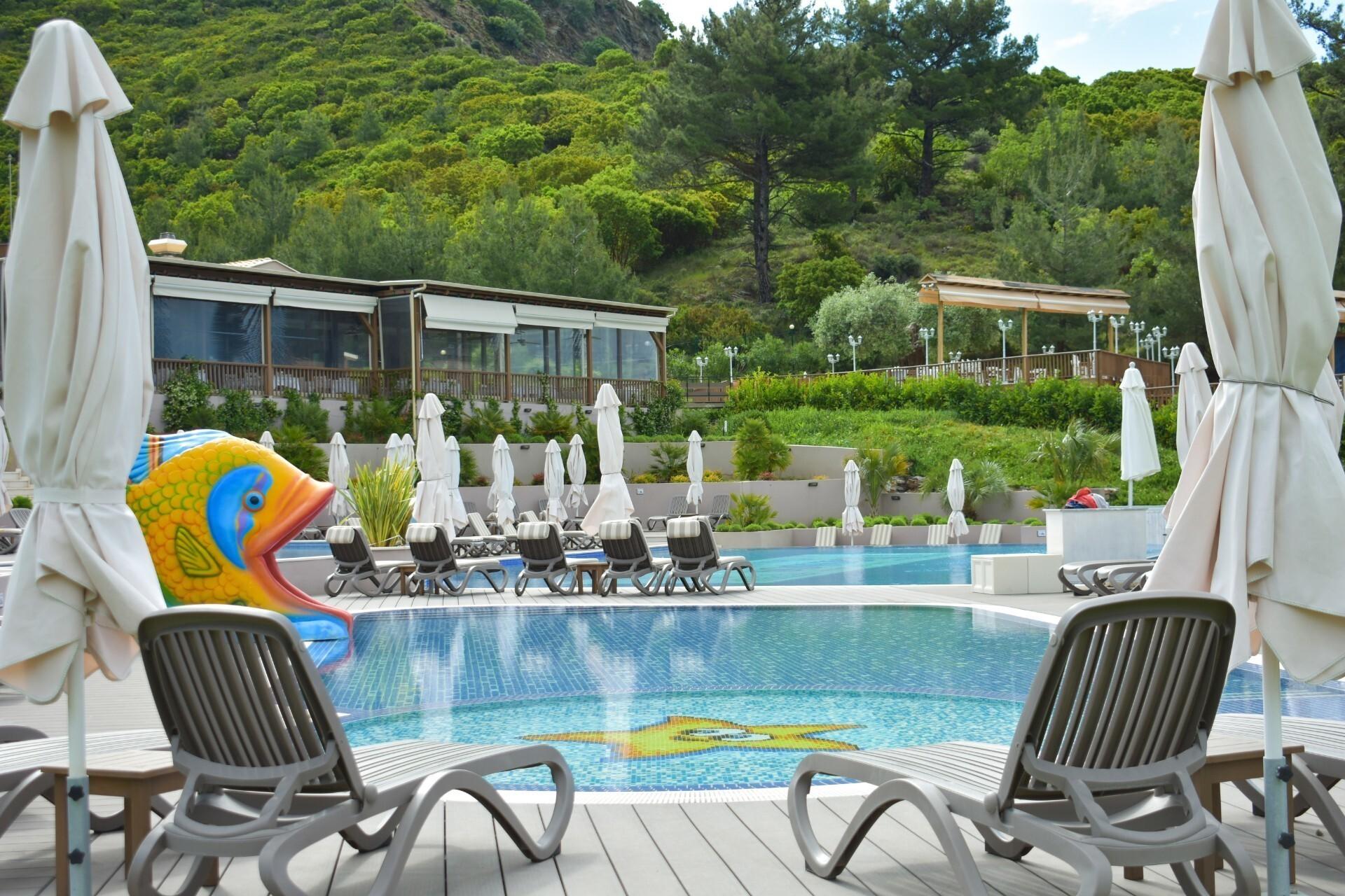 Thassos Grand Resort - басейн