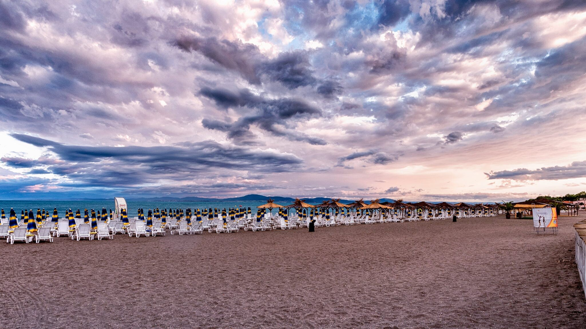 Комплекс Сънсет Ризорт - плаж