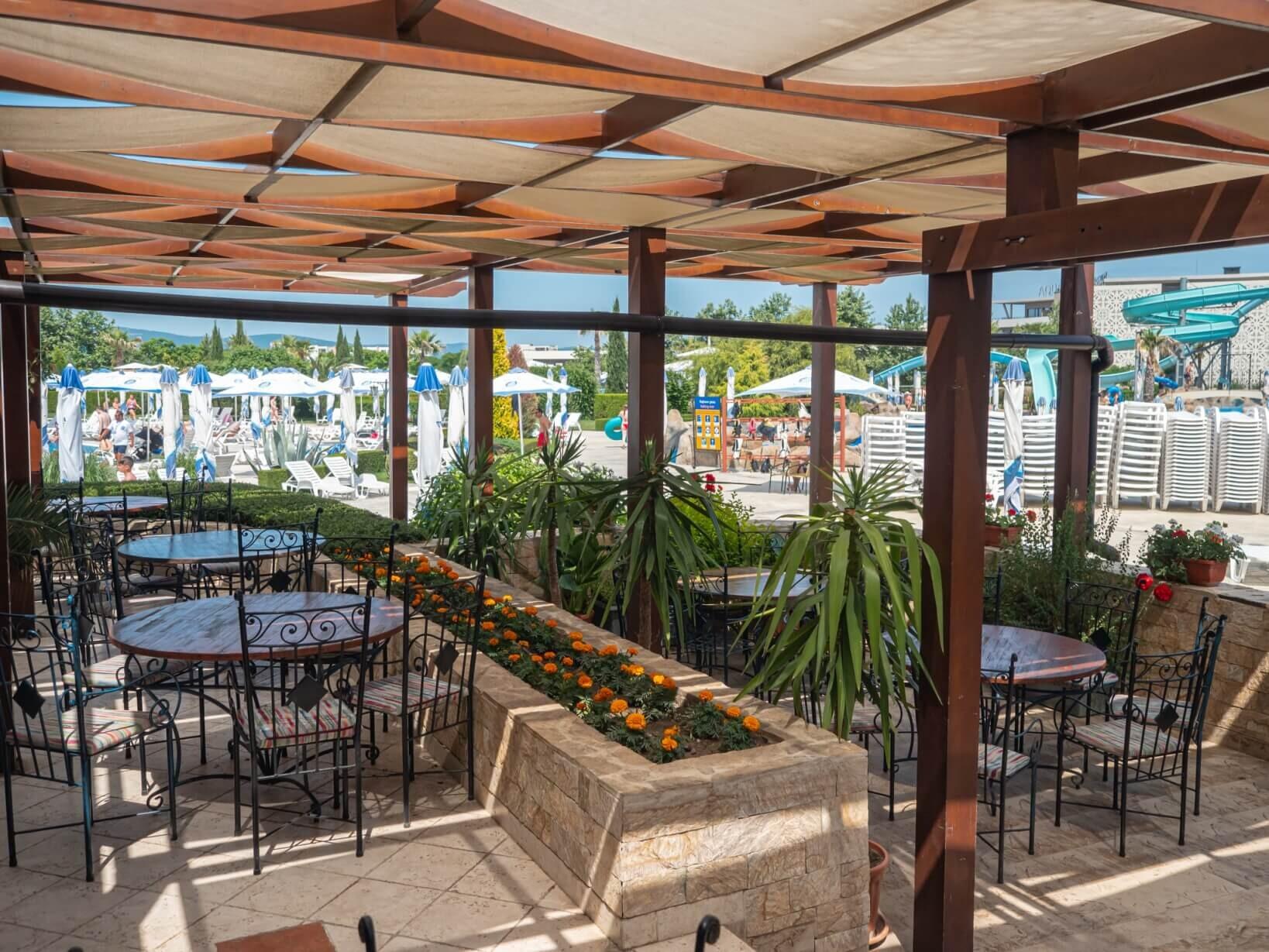 Аква Парадайз Ризорт - аквапарк ресторант