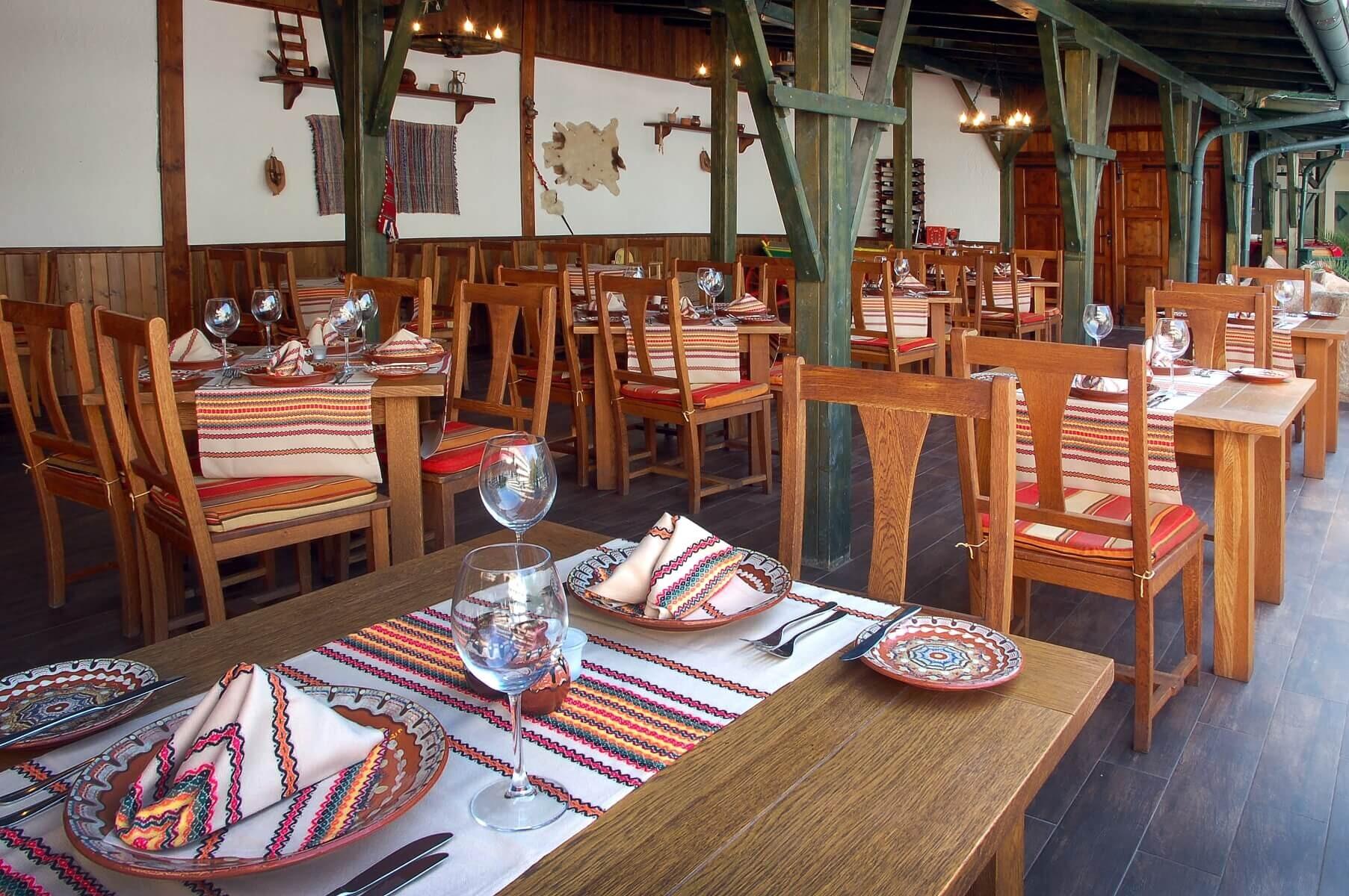 Грифид Хотел Арабела - български ресторант