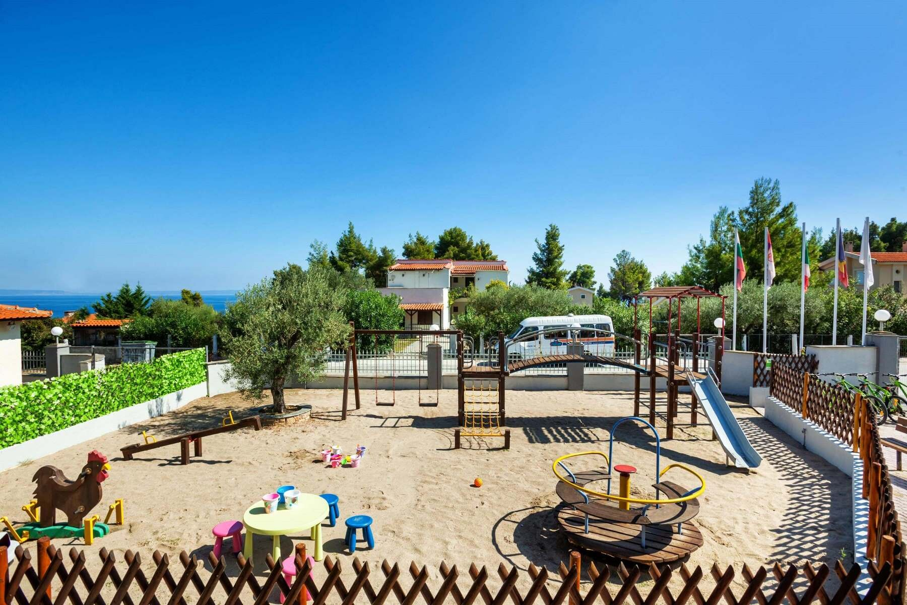 Palladium Hotel - детска площадка