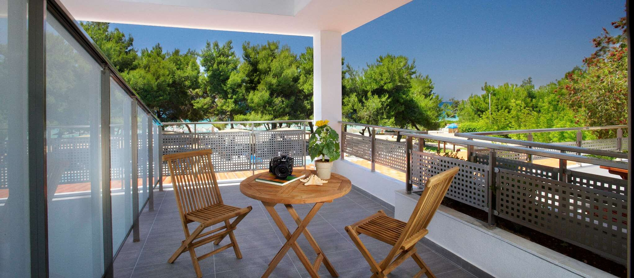 Portes Beach Hotel - балкон супериорна стая