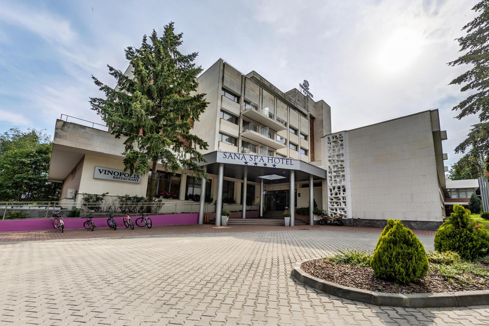 Сана Спа Хотел - общ изглед