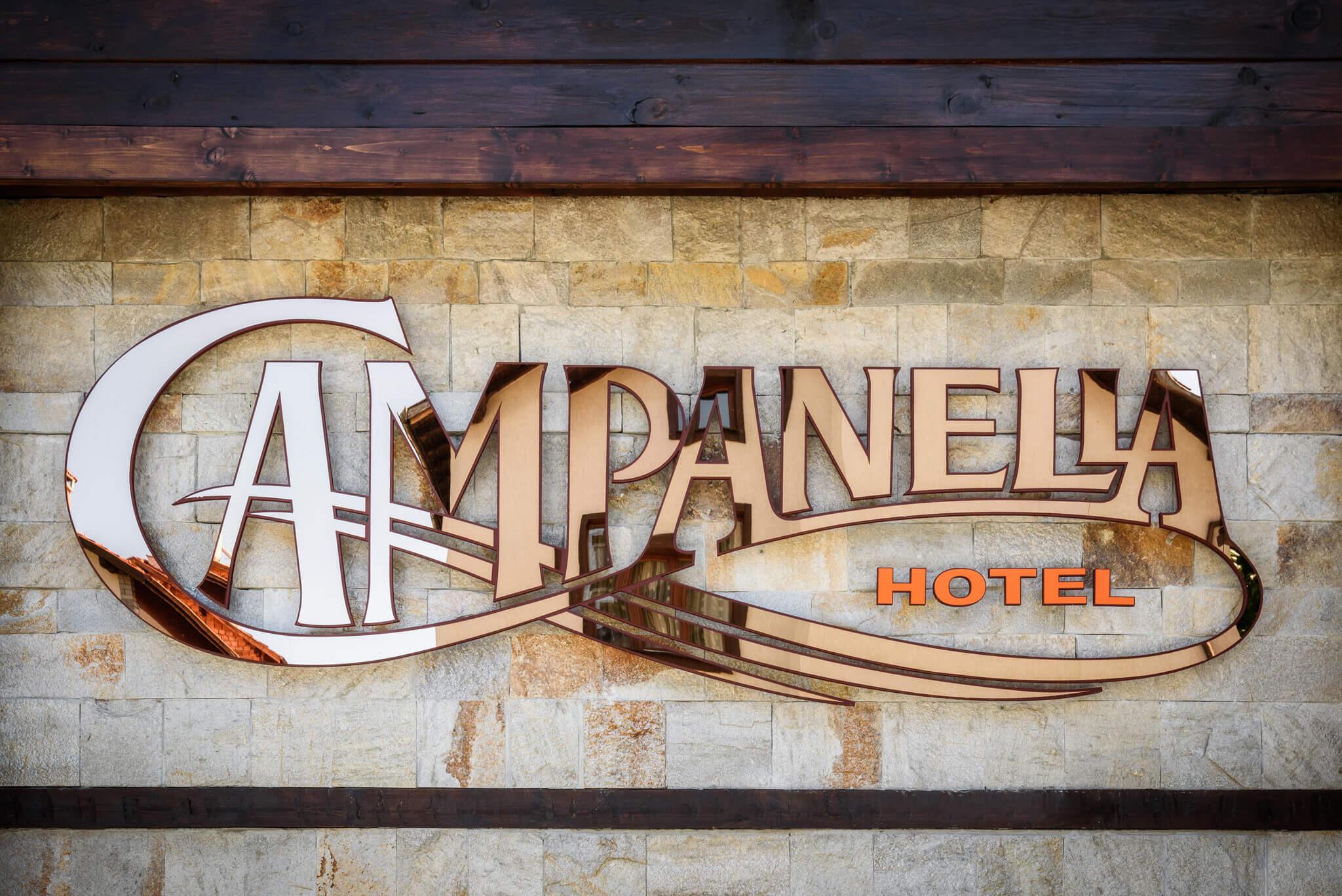 Хотел Кампанела 3* - вход