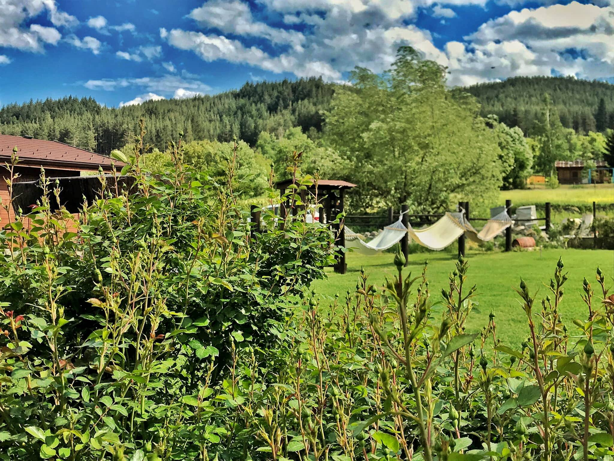 Хотел Орбел - градина