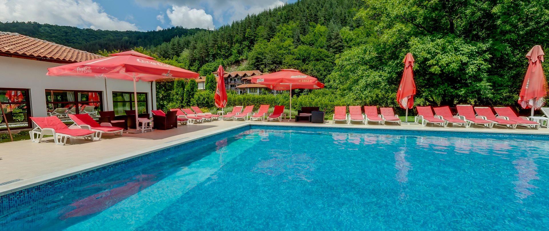 Парк Хотел Фея - открит басейн