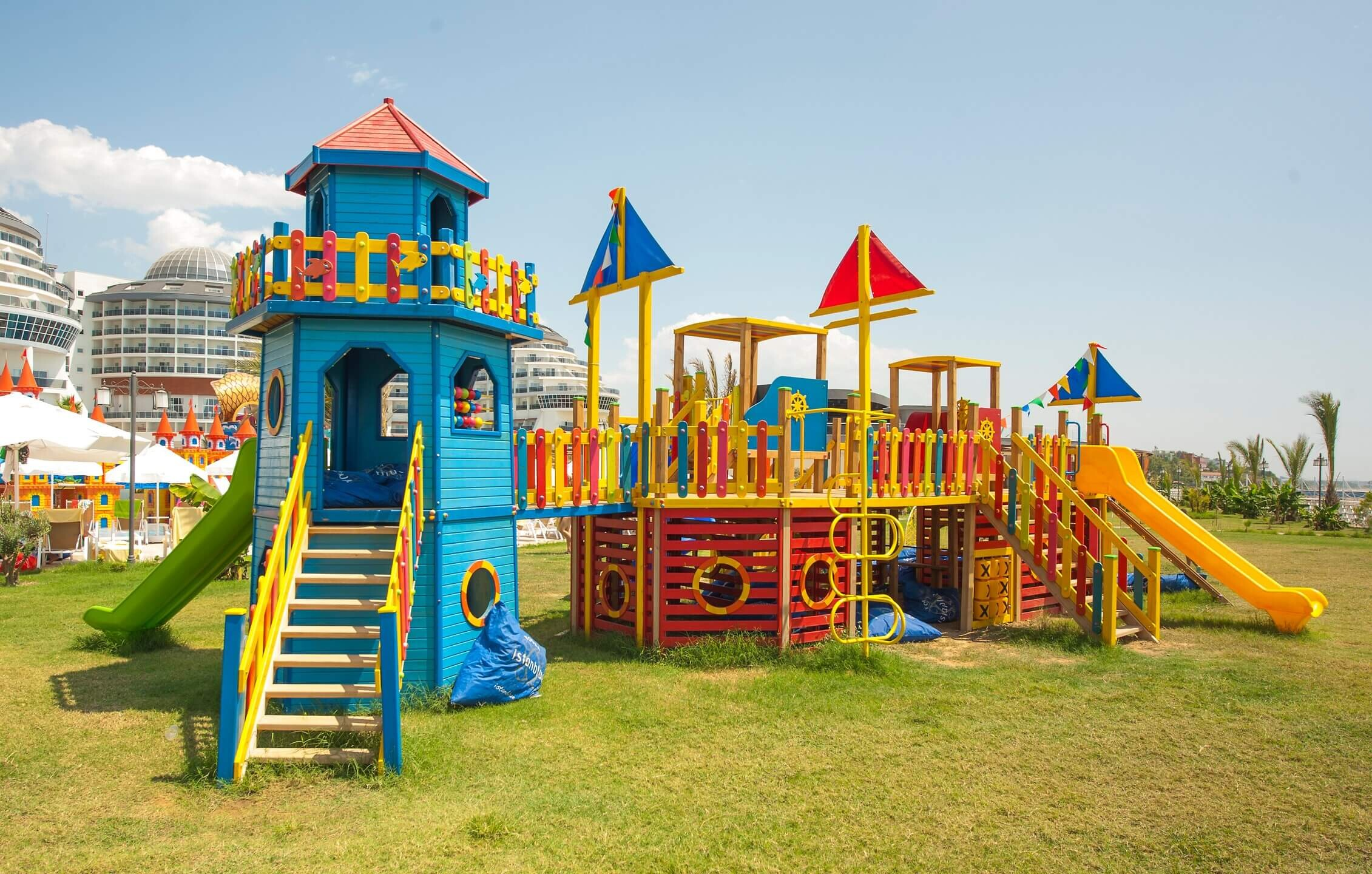 Seaden Sea Planet Resort & SPA  - детска площадка