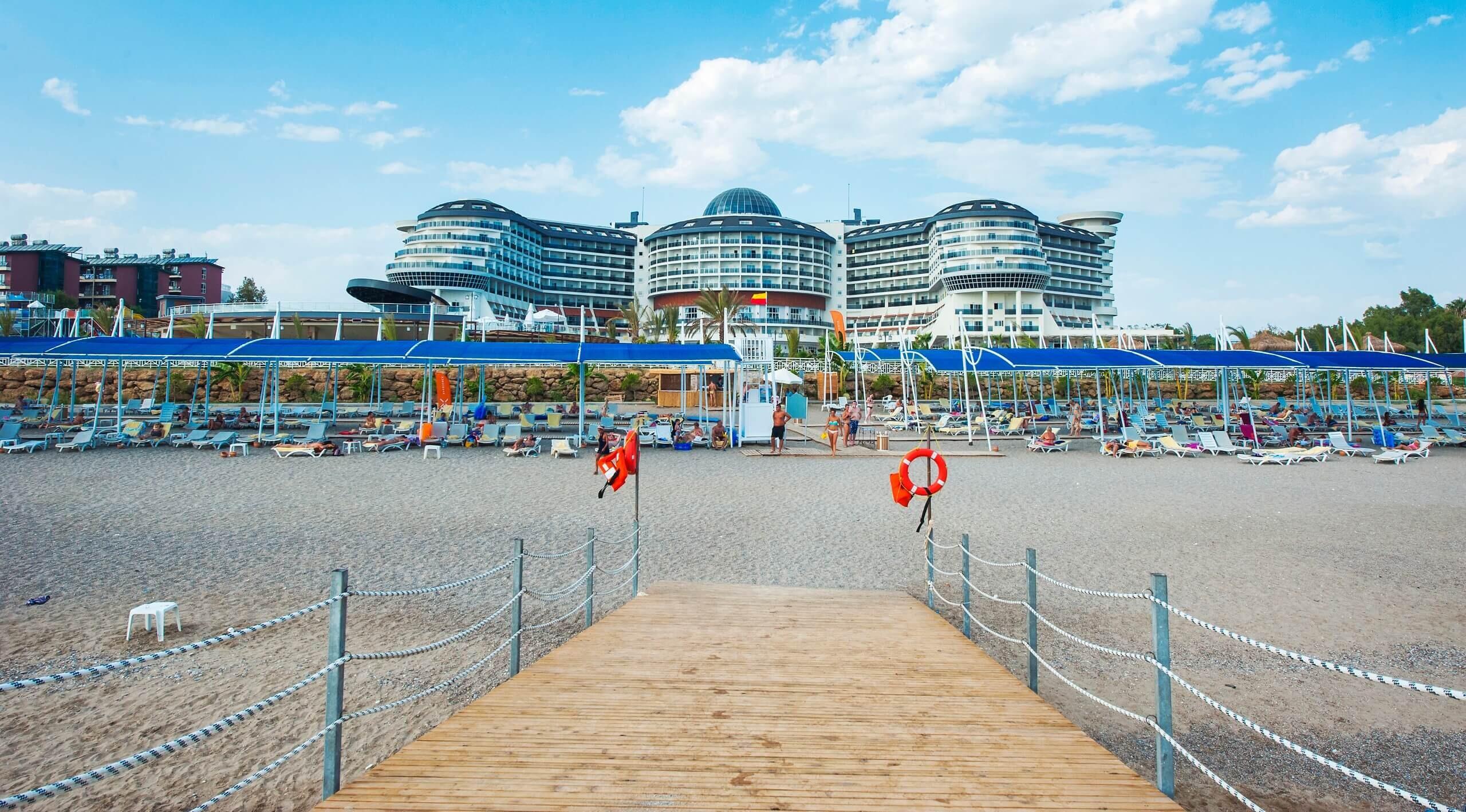 Seaden Sea Planet Resort & SPA  - плаж