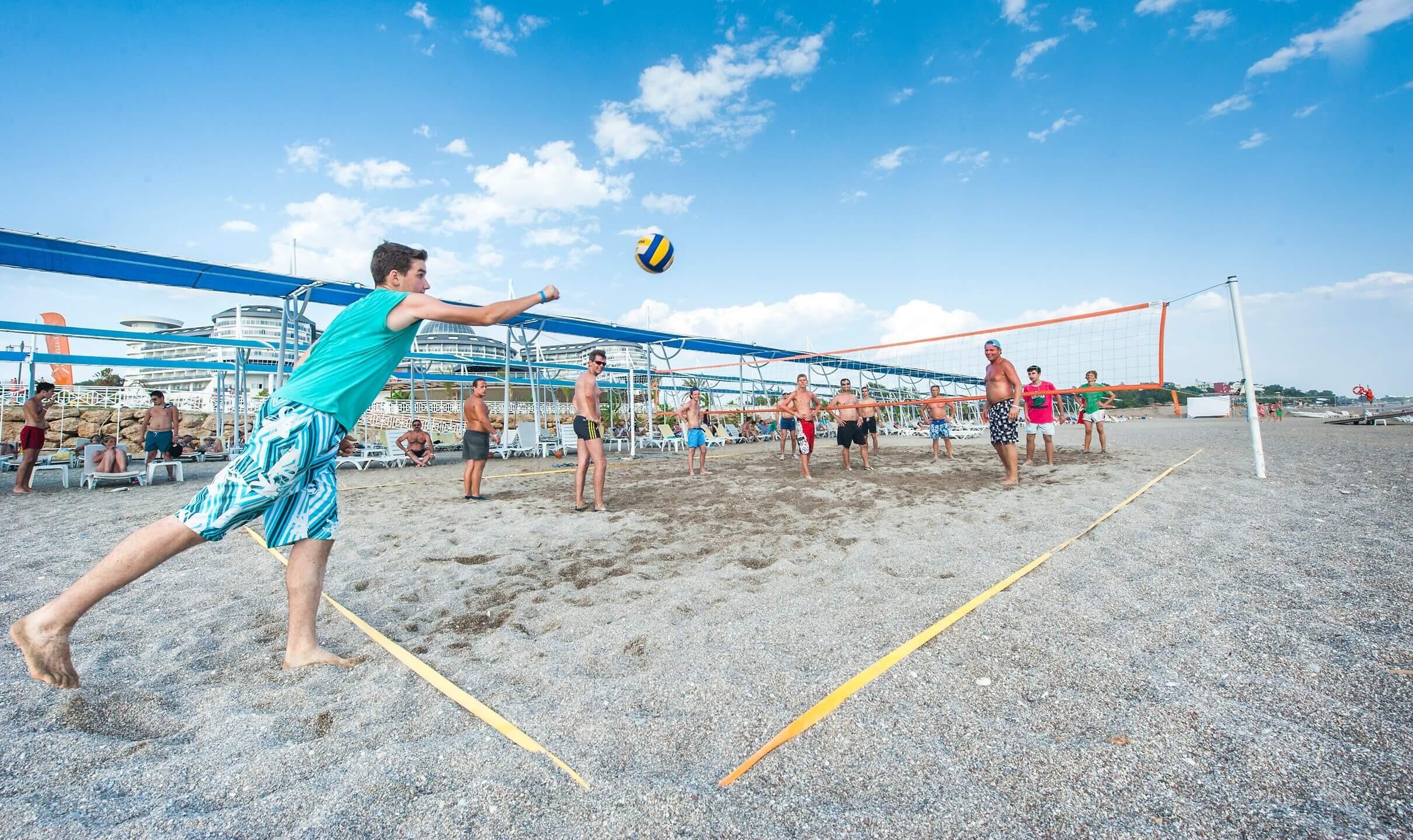 Seaden Sea Planet Resort & SPA  -волейбол