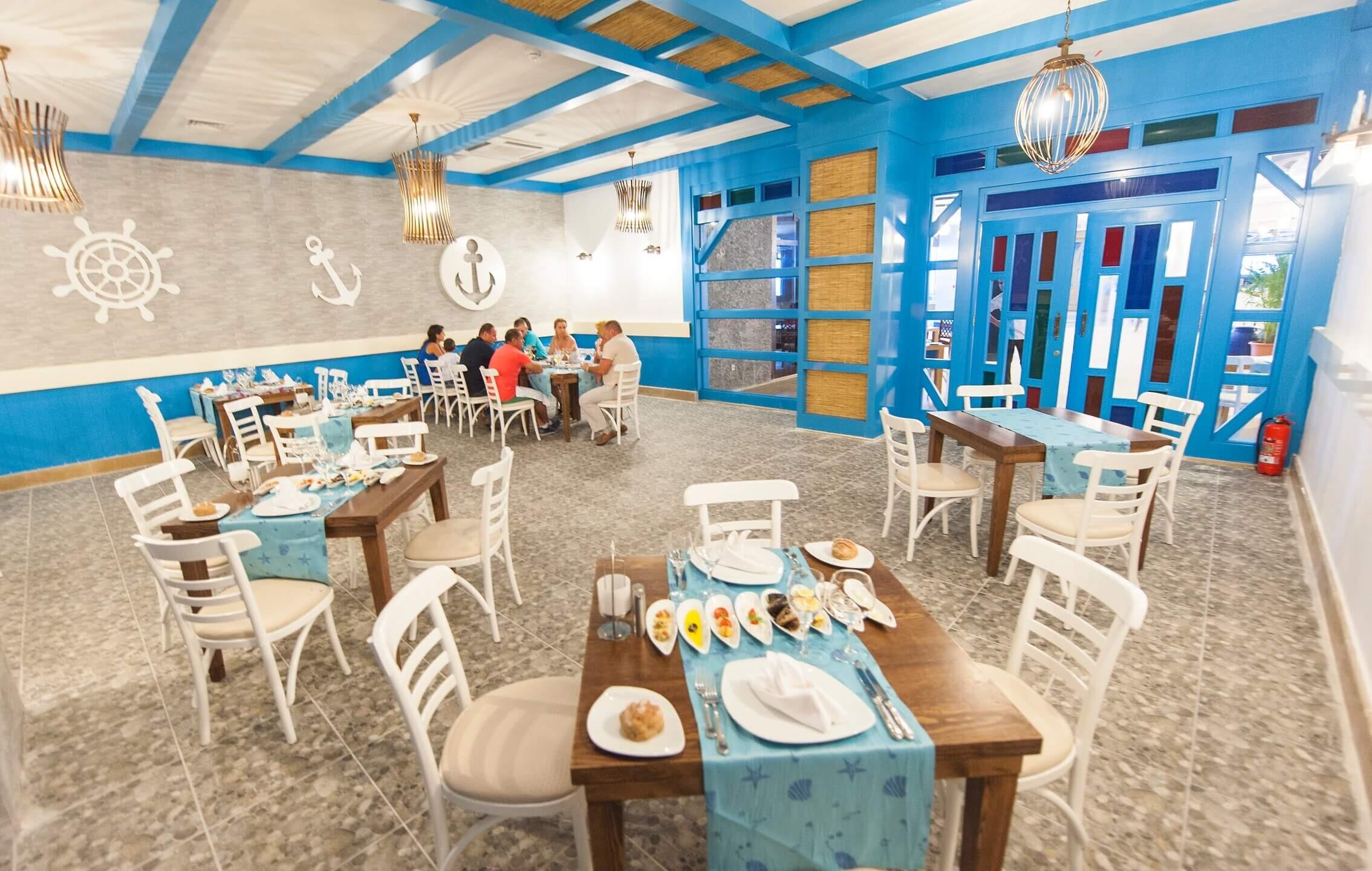 Seaden Sea Planet Resort & SPA  - ресторант