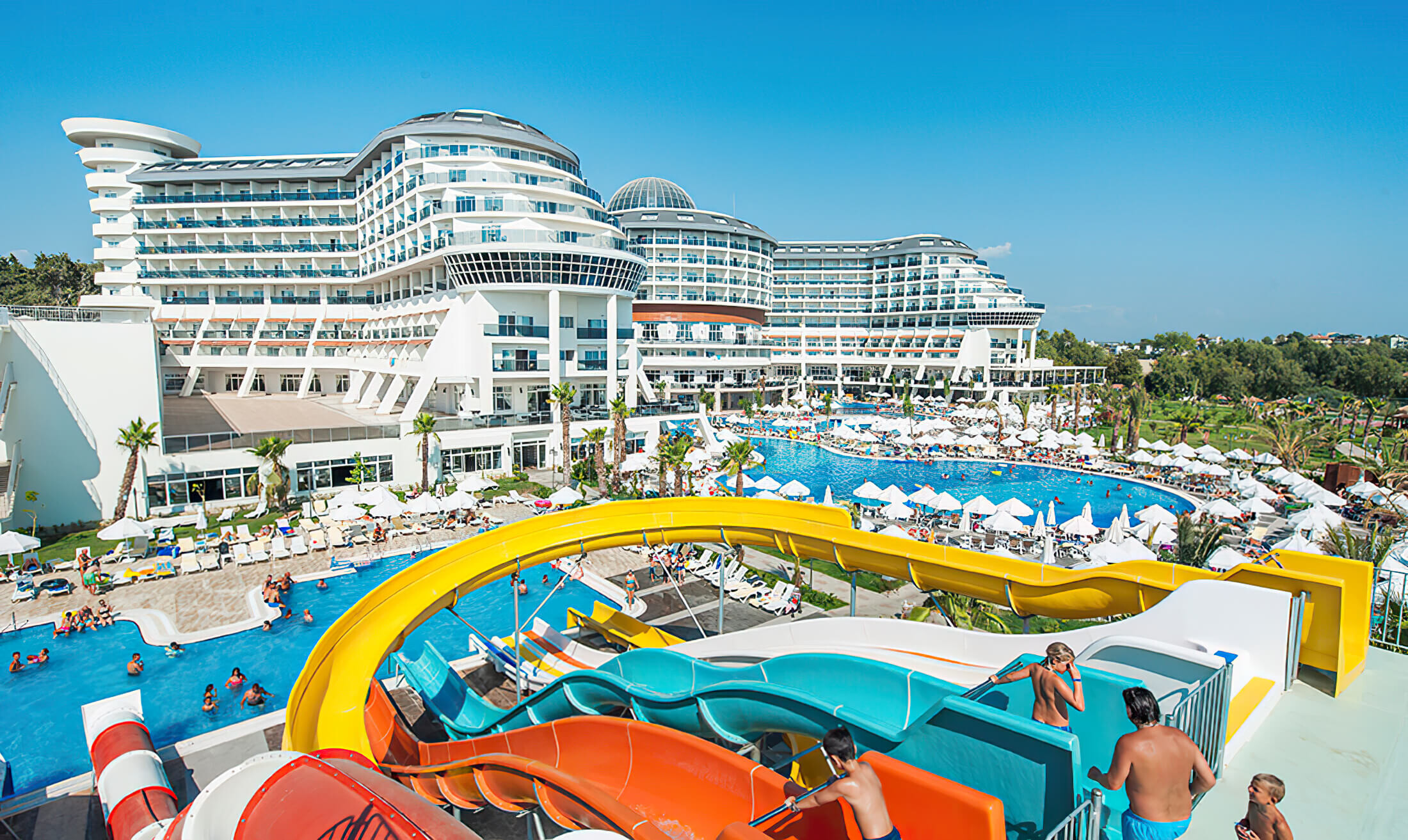 Seaden Sea Planet Resort & SPA - аквапарк