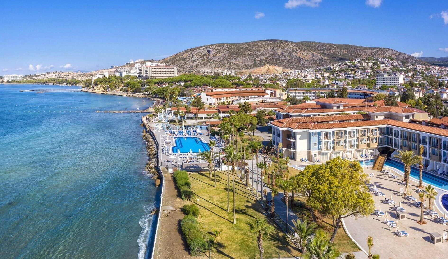 Ephesia Holiday Beach - общ изглед