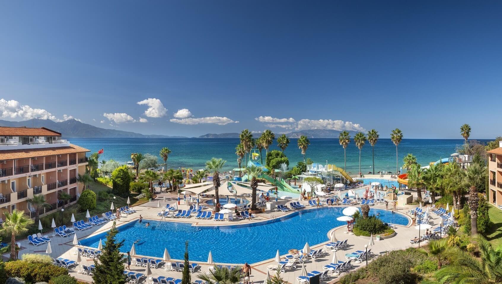 Ephesia Holiday Beach - басейн