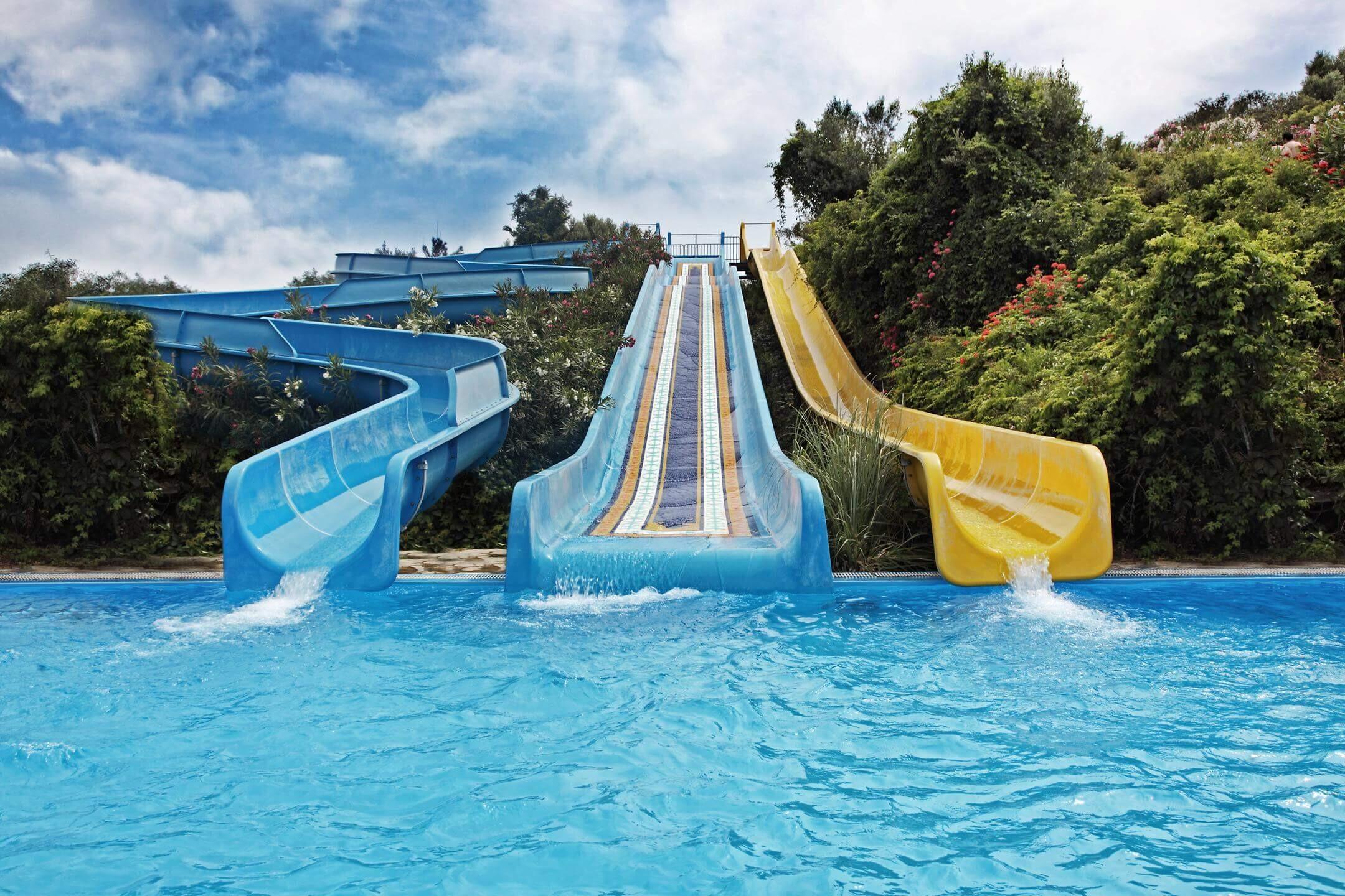 Yasmin Bodrum Resort - пързалки