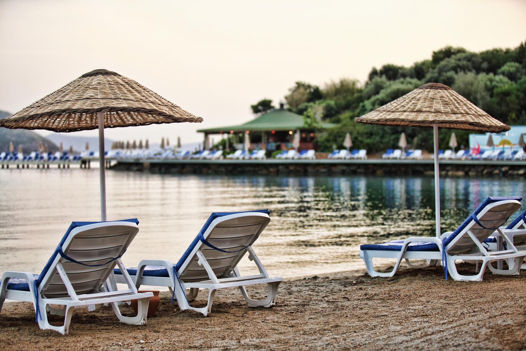Yasmin Bodrum Resort - плаж