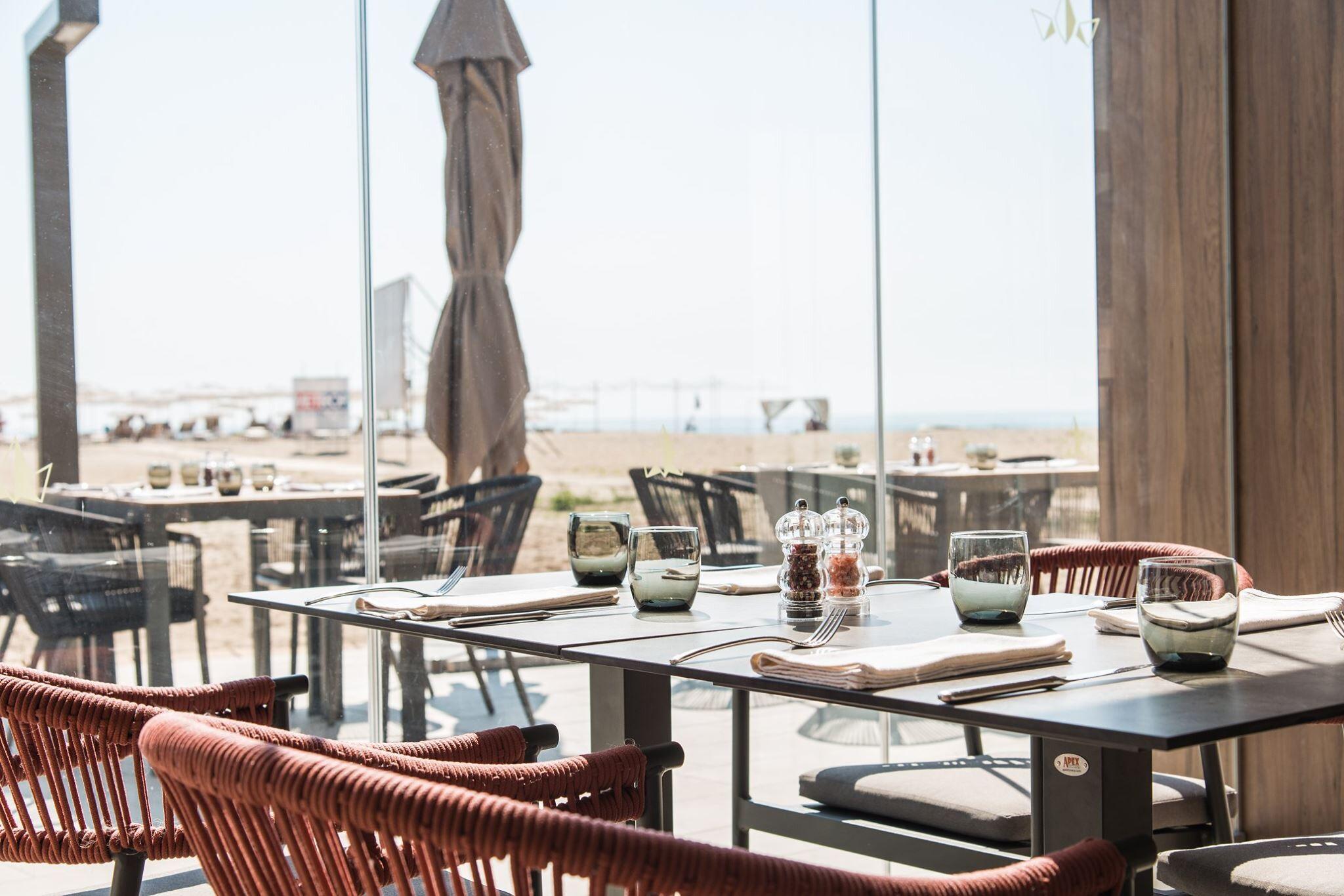 Рейна дел мар - ресторант на плажа