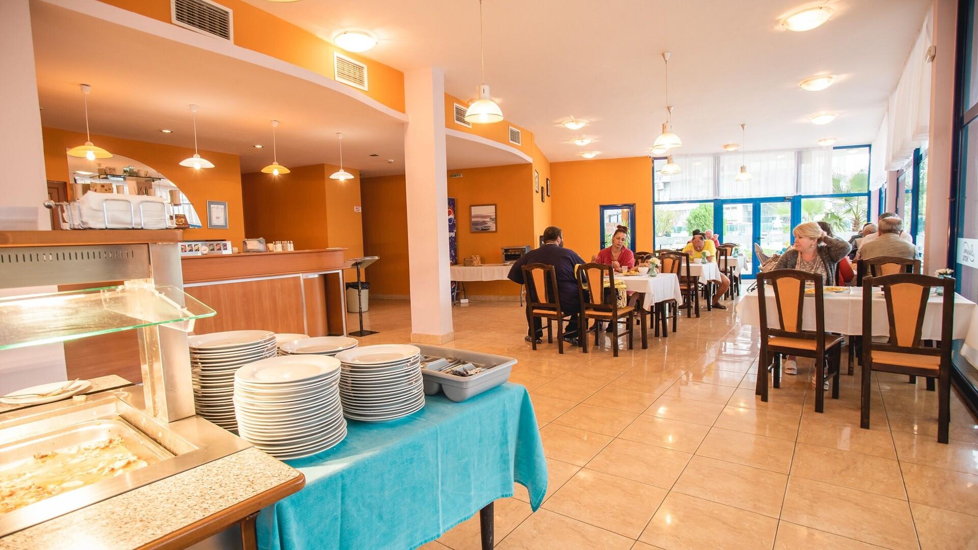 Хотел Бохеми - основен ресторант